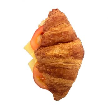 Cheese & Tomato- Filled Croissant