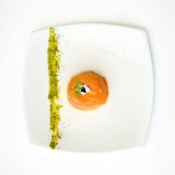 Christmas Smoked Salmon Mousse