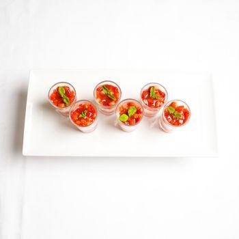 Canape VIP Strawberries & Cream