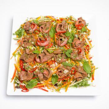 Royal Thai Beef Salad Platter