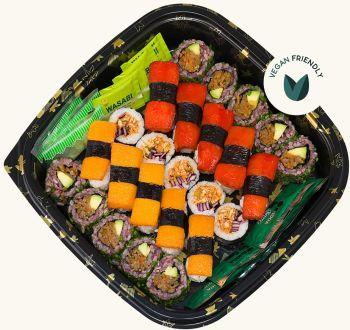 Vegan Sushi Platter - Sharing 25 pieces