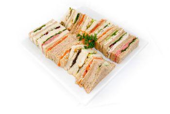 Christmas Sandwich Selection